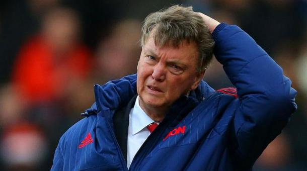 Louis van Gaal has endured a rough year at United, but still finds the team in the FA Cup final and contending for fourth. | Source: Getty