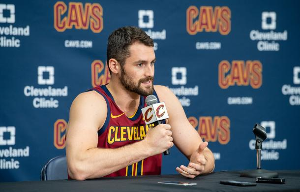 Kevin Love will become the first option on this Cavaliers team. (Photo: Jason Miller/NBAE/Getty Images)
