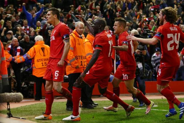 Lovren isn't included despite a much improved season for Liverpool (photo: getty)