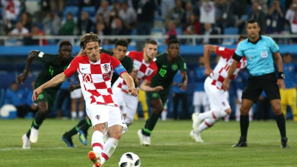 Luka Modrić played a key role in today's match | Source: Getty Images via FIFA.com