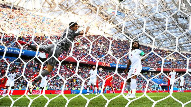 Jaime Penedo was powerless against Dries Mertens goal | Source: Getty Images via FIFA.com