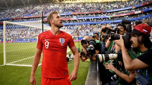 Harry Kane comandará a su selección, tal como lo ha hecho en Rusia | Foto: FIFA.com