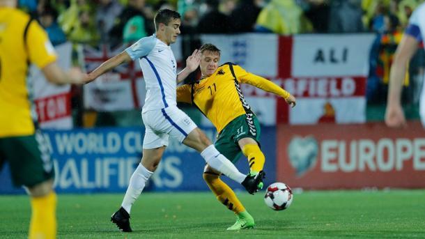 Winks in azione - Foto @England Twitter