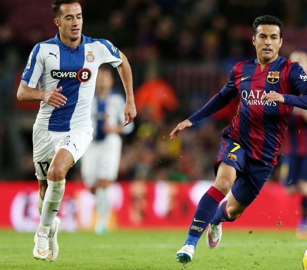 Lucas Vázquez jugó durante una temporada en el Espanyol | Foto: Getty Images