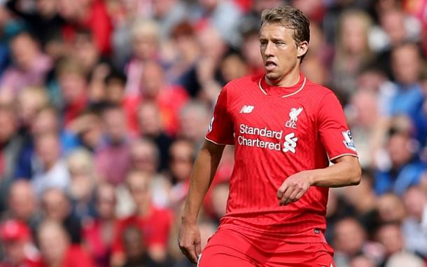 Lucas isn't good enough to command a spot in Liverpool's midfield anymore (photo; Getty)