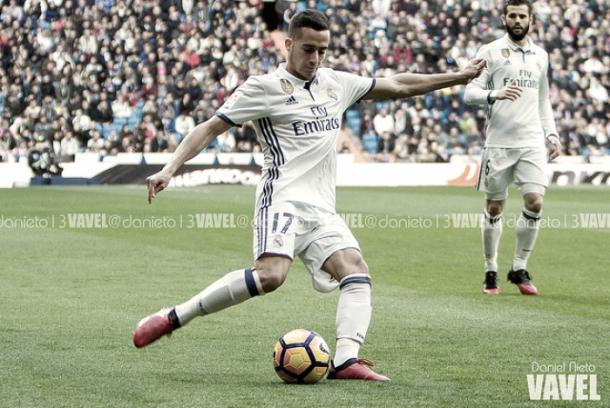 Lucas Vázquez con el Real Madrid | Fuente: Dani Nieto