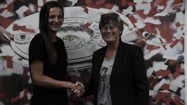 Bayern de Munique anuncia contratação da atacante Lucie Voňková (Foto: Divulgação/F.C. Bayern München)