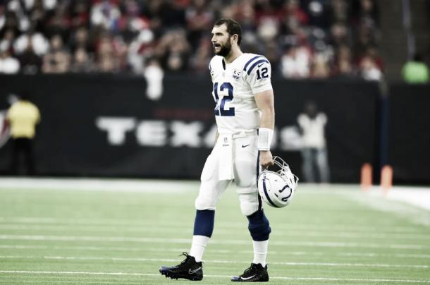 Andrew Luck. Foto: Reprodução/Indianapolis Colts