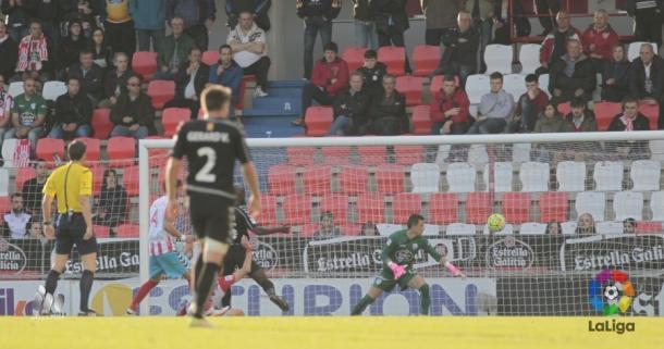 Mossa marcó el 0-2 | Foto: LaLiga