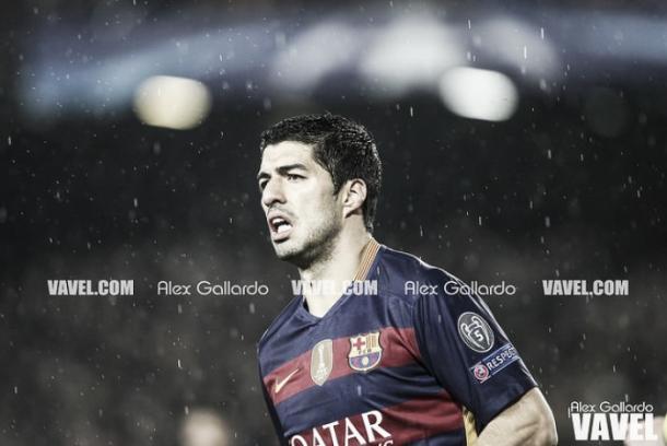 Luis Suárez estará un mes de baja   |   FOTO: Álex Gallardo