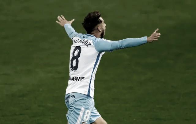 Luis Muñoz clave para este encuentro. / Foto: Málaga CF