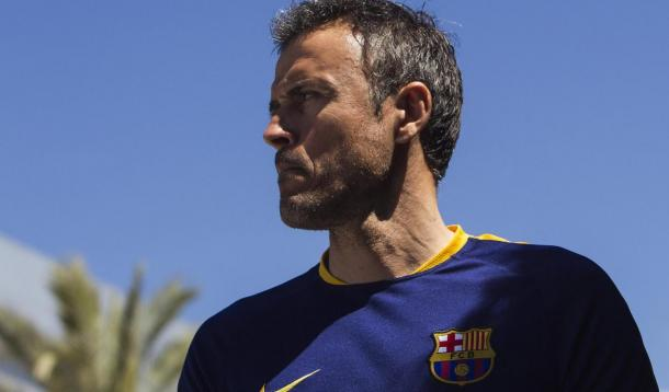 Luis Enrique. Photo: FC Barcelona