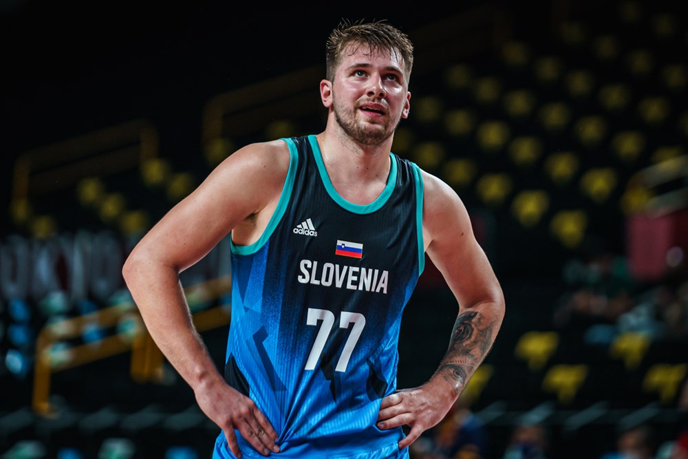 Luka Doncic vs Argentina / Photo : FIBA
