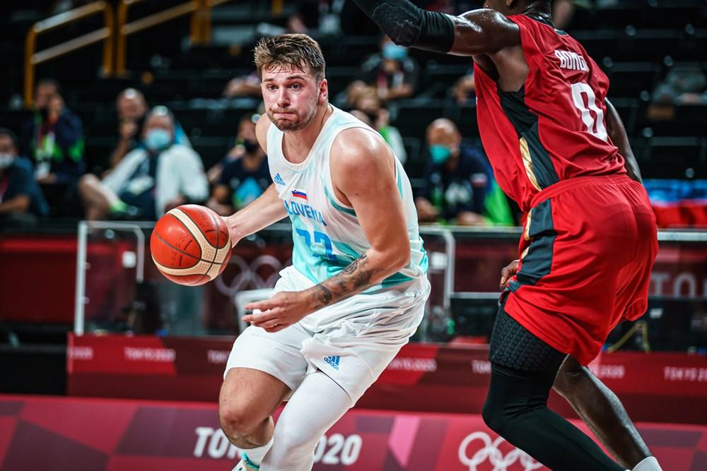Luka vs Alemania / Foto : FIBA