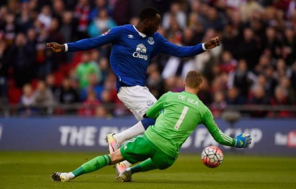 Romelu Lukaku could not add to his goal tally at Wembley. | Photo: Getty Images