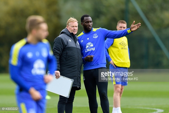 Lukaku has shone since Koeman's arrival at Goodison Park, scoring seven of Everton's 15 Premier League goals this season. | Photo: Tony McArdle/Everton FC via Getty Images