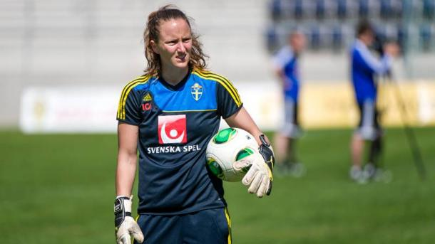 Lundgren has earned 30 caps for her country. | Photo: Sport Bladet