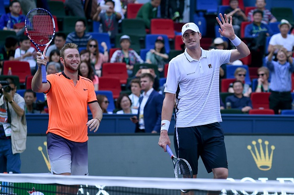 John Isner and Jack Sock come through in match tiebreaker (Photo: Wang Zhao/Getty Images)