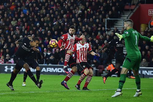 Southampton - Liverpool. Foto: premierleague
