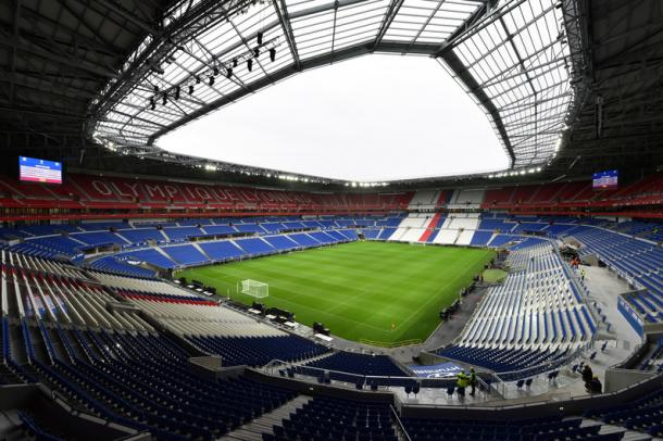 Lyon's new home, having only moved in back in January, plays host to tonight's fixture. (Picture: Getty Images)