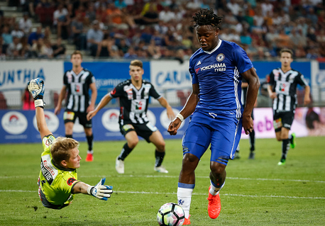 Michy came close for the Blues upon occasion, and looked promising in attack. | Photo: Getty