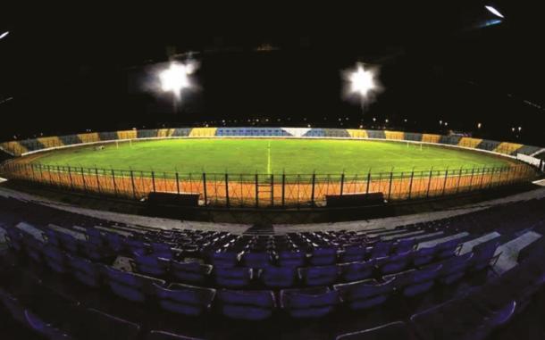 Antonio Romero, estadio del partido entre Boca y Santamarina