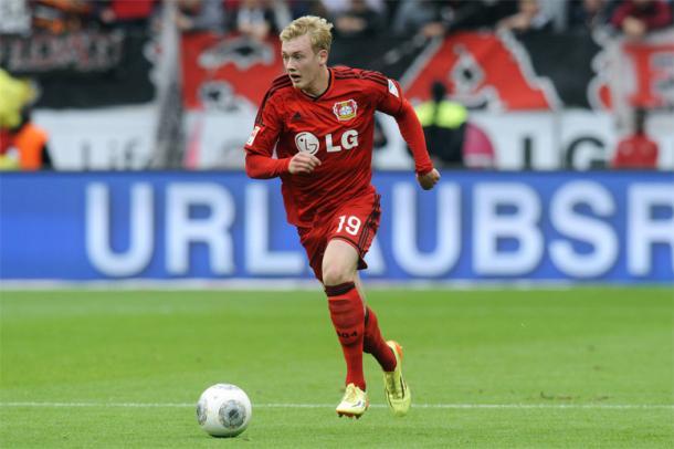 Brandt talento del Bayer che piace ai nerazzurri. | Foto: gazzamercato.it