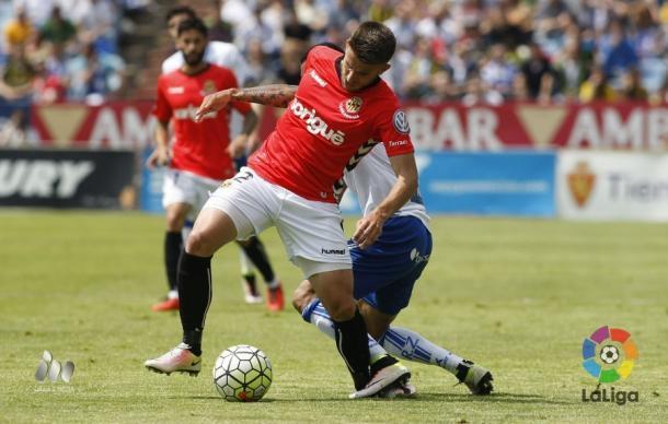 El Zaragoza tuvo más control en los primeros minutos | Foto: LaLiga