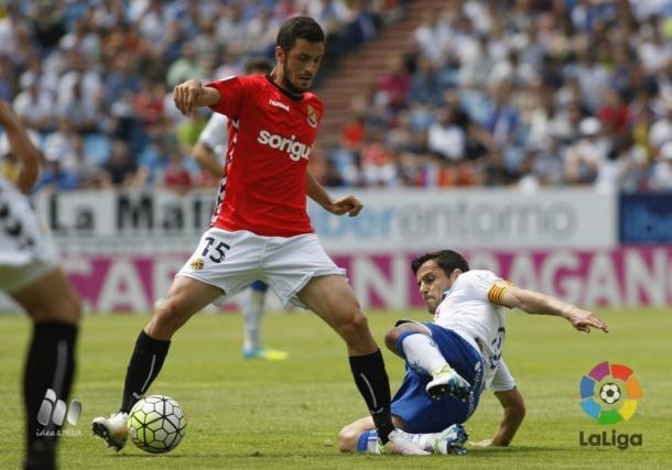 El colegiado no pitó un penalti al Nàstic y sí un fuera de juego inexistente | Foto: LaLiga