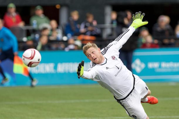 MacMath's howler against DC United did nothing to instill the front office with confidence in him. (Photo: AP)