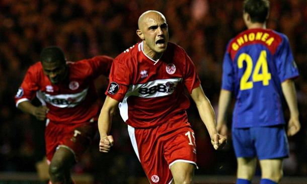 Massimo Maccarone signed for Middlesbrough after becoming the first Serie B player in 20 years to be selected for the Italian national team. Source: The Guardian