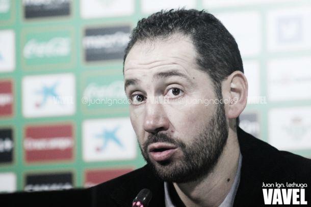 Pablo Machín, en rueda de prensa   Juan Ignacio Lechuga - VAVEL