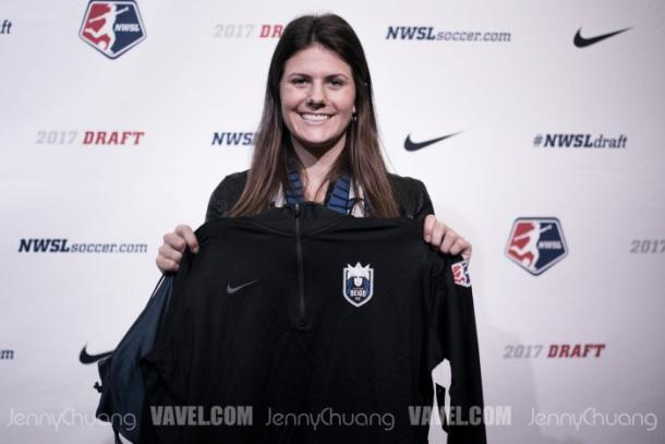 Maddie Bauer was Seattle's first overall pick in the draft   Source: Jenny Chuang/VAVEL