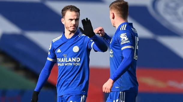 El empuje de Maddison, parte del corazón del Leicester / FOTO: Premier League