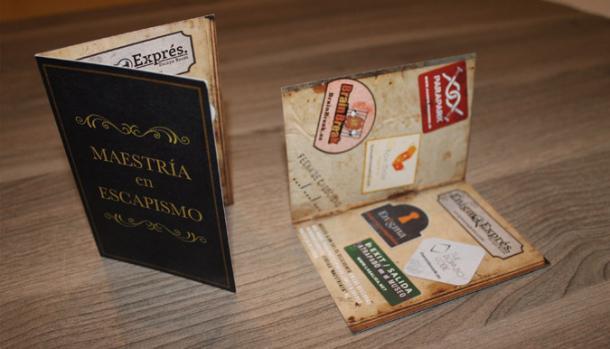 Carnet de maestría de escapismo. Foto: parapark.es