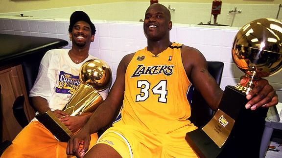 Kobe y Shaq I Foto: NBA.com