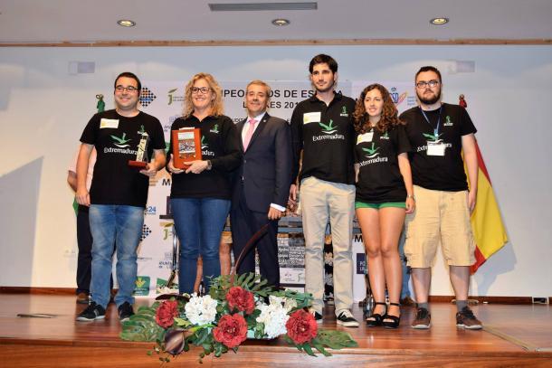 Magic Extremadura ganador de 1ªdivisión  | FEDA
