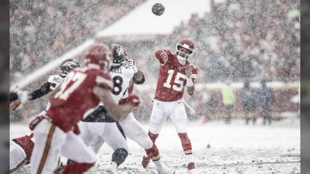 Patrick Mahomes es uno de los mariscales mas talentoso de la NFL (foto Chiefs,com)