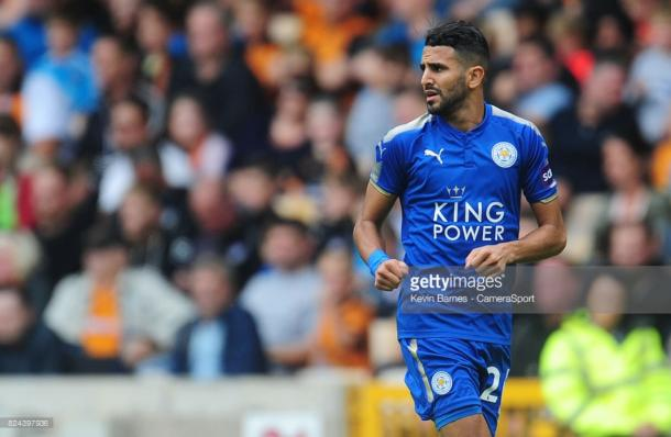Despite submitting a transfer request, Riyad Mahrez looks to be staying at Leicester City | Photo: Getty/ Kevin Barnes - CameraSport