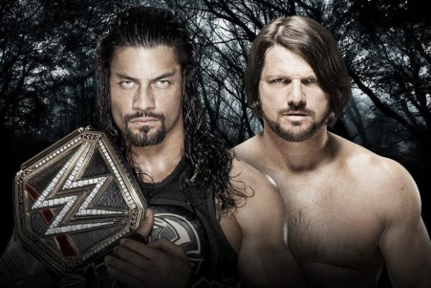 Can Styles beat 'The Guy'. Photo-WWE.com