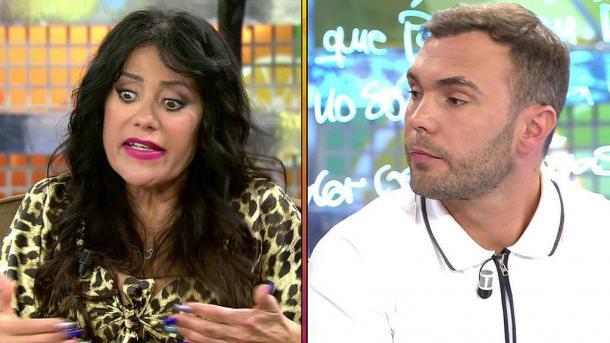 Maite y Cristian en una de sus múltiples peleas televisivas   Telecinco