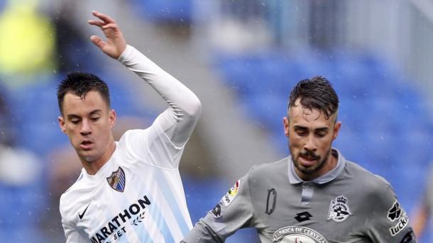 Málaga 4-3 Deportivo de la Coruña. Fotografía: EuroSport