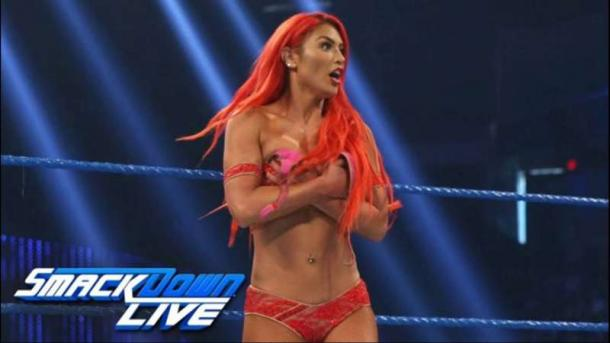 Eva Marie has parted ways with WWE (image: youtube)