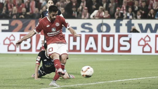 Can Malli repeat his match winning performance in this fixture last season? (Photo: Bundesliga)
