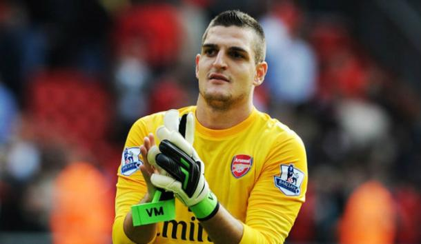 Mannone is looking forward to facing former club, Arsenal | Photo: ArsenalPics.com
