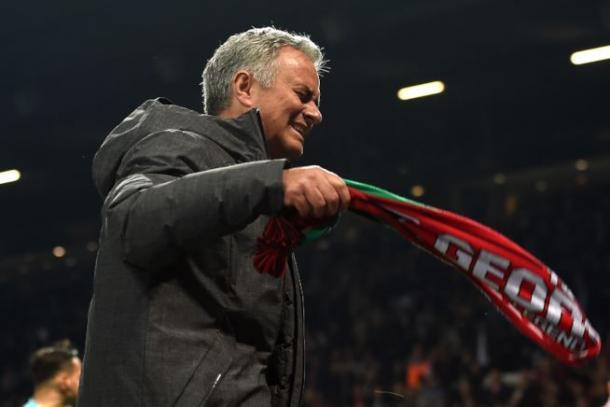Le lacrime di José Mourinho a fine gara - Foto Fox Sports