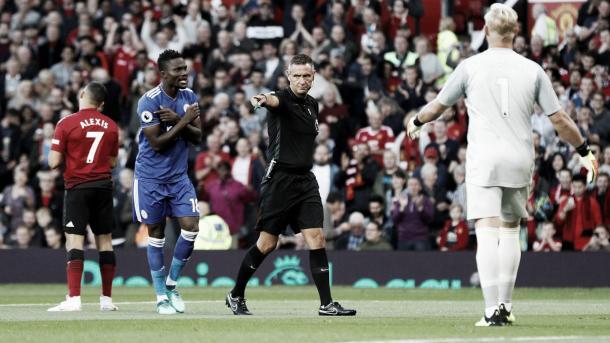 Momento del penalti | Foto: Premier League