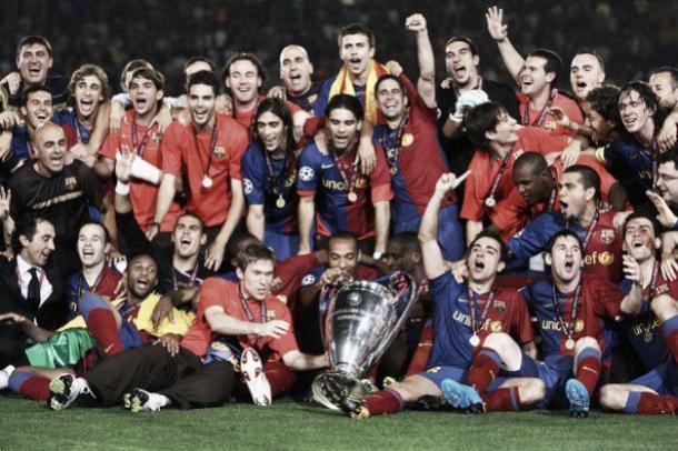 Final de la Champions 2009 en Roma | Foto: uefa.com