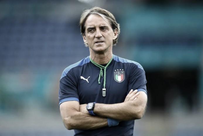 Mancini quiere ser campeón con Italia   Foto: UEFA