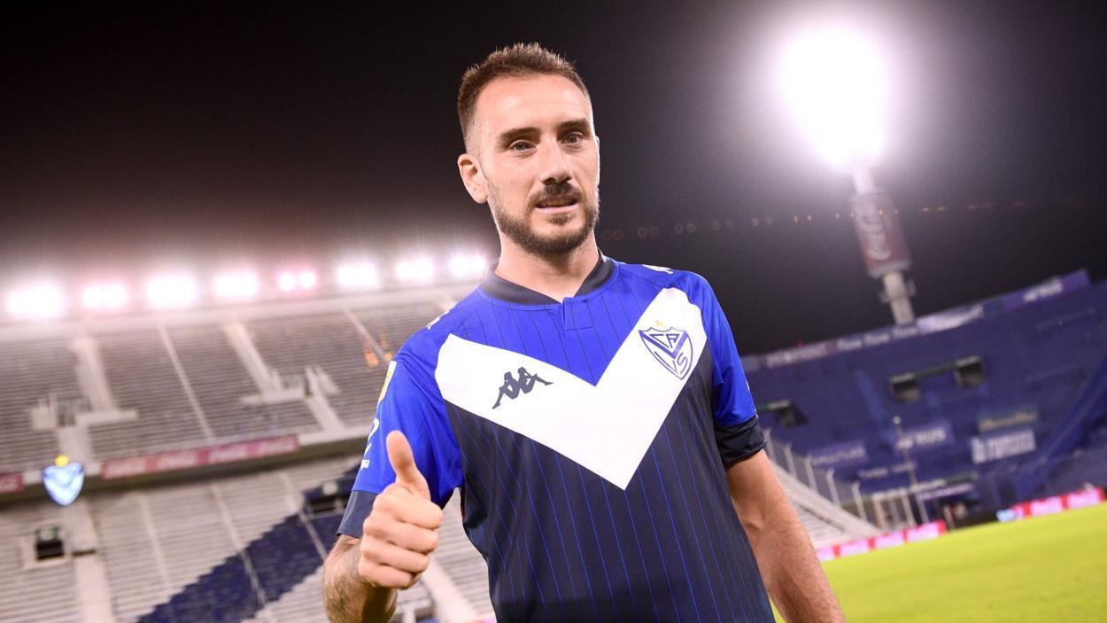 Mancuello, ex-Flamengo que atua hoje pelo Vélez (Foto: Divulgação / Vélez Sarsfield)